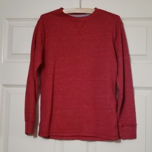 Red Thermal Long Sleeve